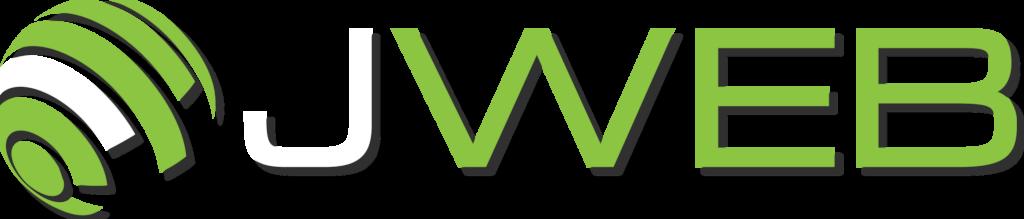 jweb logo with shadow