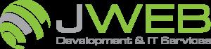 jweb logo transparent grey stripe